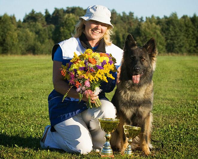 2013 ESLÜ IPO Meistrid - Anu Oks ja Estrellest Hurmuri Hundiin