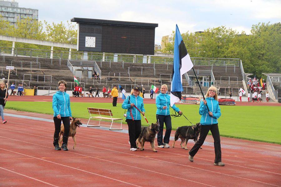FCI IPO MM 2014 (Malmö, Rootsi) - Eesti meeskond
