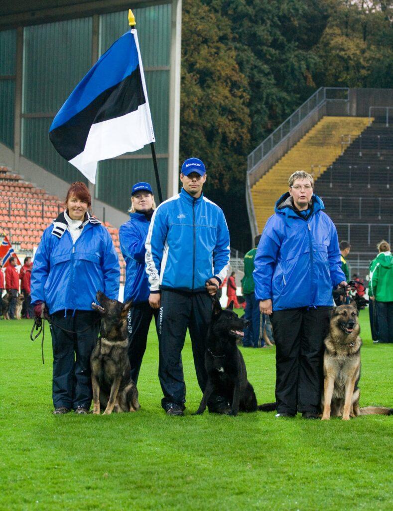 WUSV IPO MM 2009 (Krefeld, Saksamaa) - Eesti meeskond