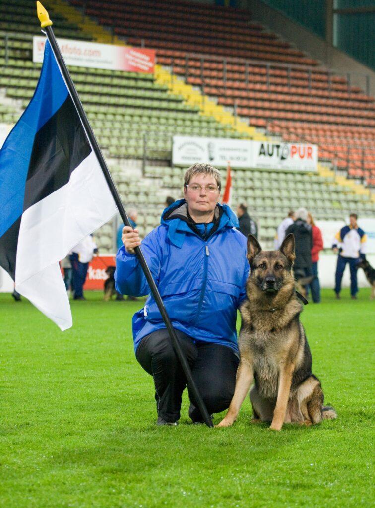 WUSV IPO MM 2009 (Krefeld, Saksamaa) - Urve Lageda ja Ratsumestarin Drago