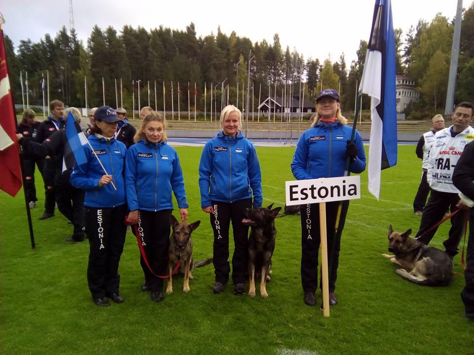 WUSV IPO MM 2015 (Lahti, Soome) - Eesti meeskond