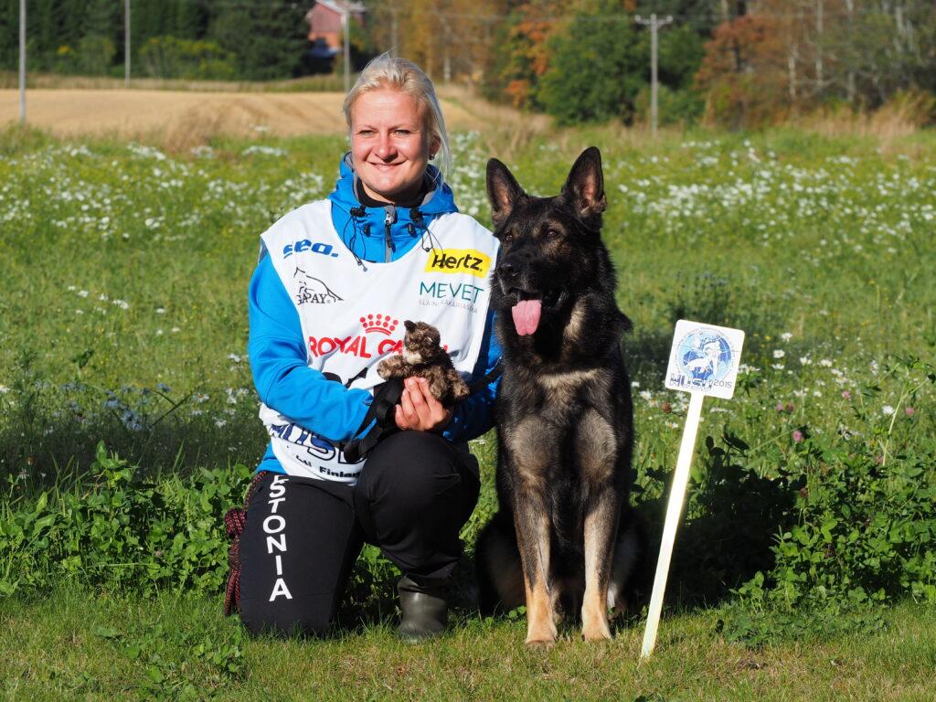 WUSV IPO MM 2015 Lahti Soome Merlin Kanter ja Estrellest Imeline Tsüklon